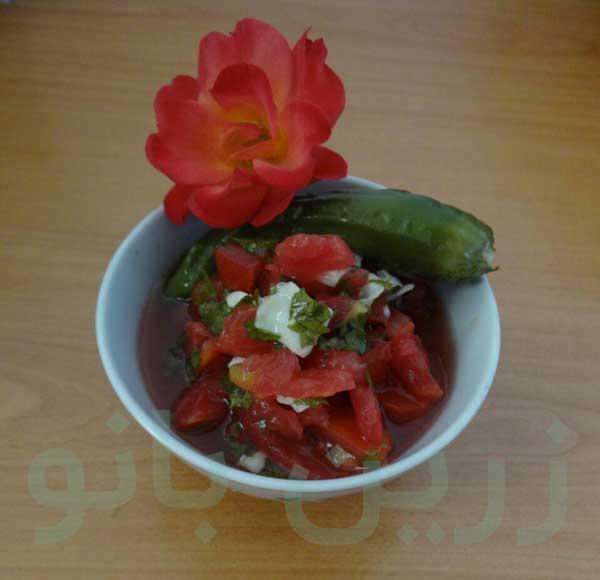 طرز تهیه ترشی گوجه فرنگی مخصوص