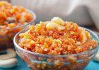 درست کردن حلوای هویج در خانه