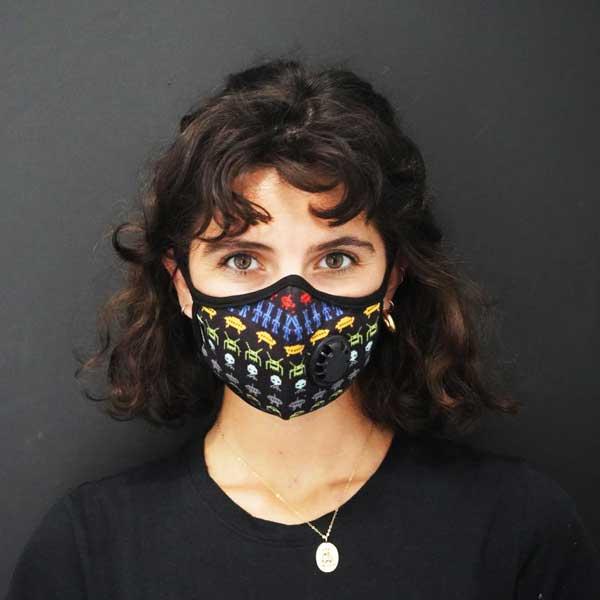 ماسک های مخصوص با فیلتر کربن