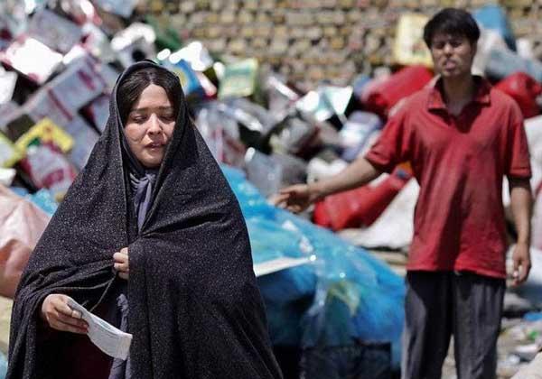 مهراوه شریفی نیا در نقش دختر افغانی