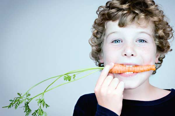 هویج برای کودکان